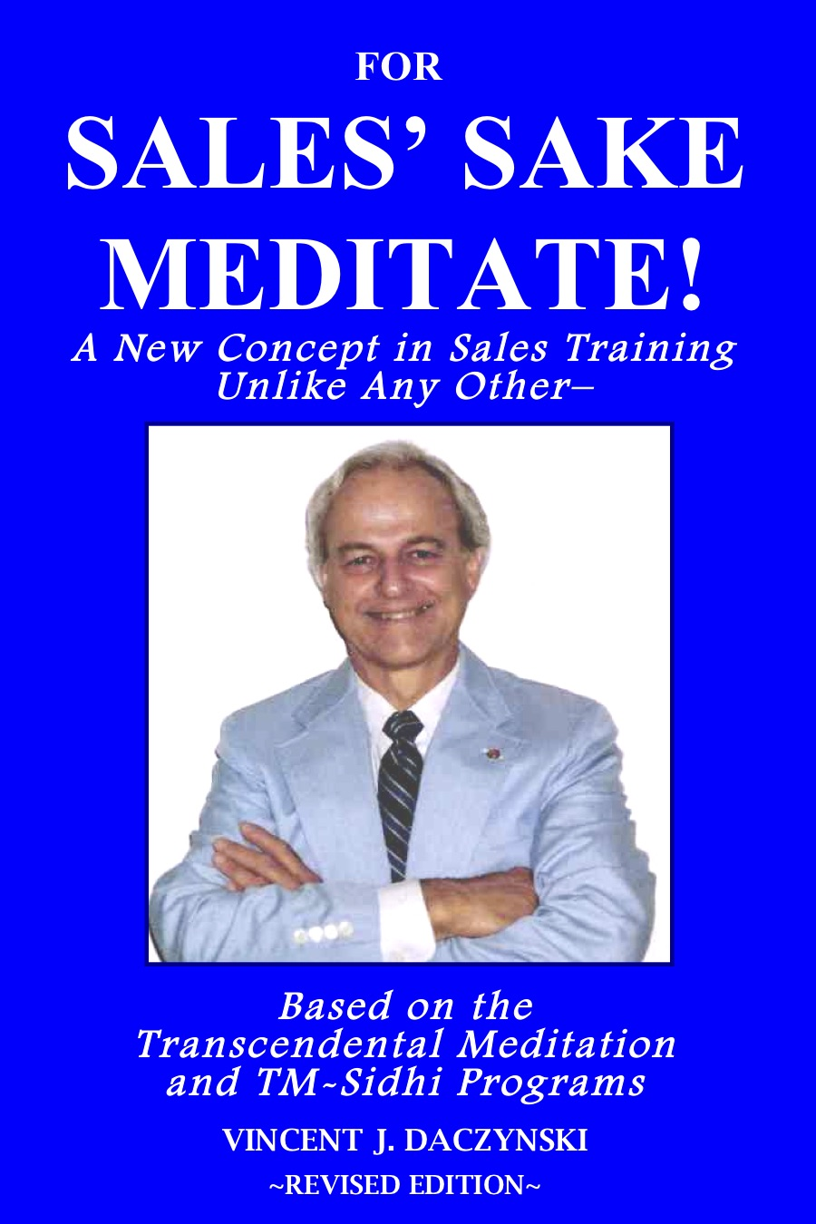 Inspirational sales training book about meditation as a means to boost sales.